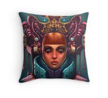 Rashah Queen Portrait Throw Pillow