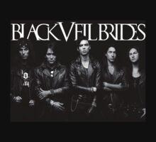 Black Veil Brides Group Picture Kids Tee