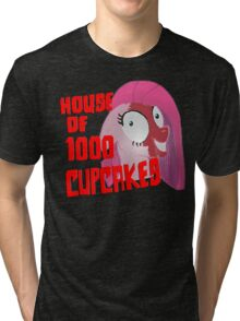 House of 1000 Cupcakes Tri-blend T-Shirt