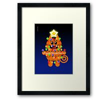 CHRISTMASKAT Framed Print