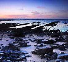 Moss Beach Shoreline by Matt Hanson