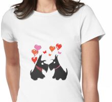 Archy Finds Love Womens Fitted T-Shirt