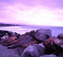 Half Moon Bay - Rose Rocks by Matt Hanson