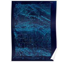 USGS Topo Map Washington State WA Yakima East 244806 1936 48000 Inverted Poster