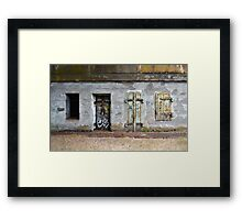 Fort Barry - Choose Your Door Framed Print