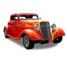 Ford - 1934 Hotrod Photographic Print