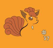Pokemon 37 Vulpix by methuselah
