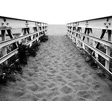 Sand Bridge by Matt Hanson