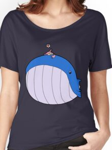 HSOWA- Skitty Loves Wailord Women's Relaxed Fit T-Shirt