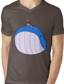 HSOWA- Skitty Loves Wailord Mens V-Neck T-Shirt