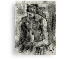 Figure Drawing Canvas Print