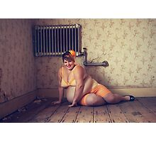 Pin Ups in Abandonments Photographic Print