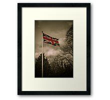 UK Flag Framed Print
