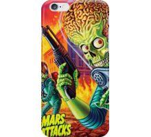 Mars Attack iPhone Case/Skin