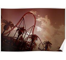 Superman Escape Roller Coaster II Poster