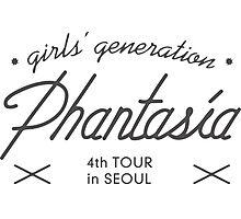 GIRLS' GENERATION 4th TOUR 'Phantasia' in SEOUL - Black Photographic Print