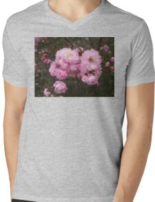 Little Pink Flowers Photograph Mens V-Neck T-Shirt