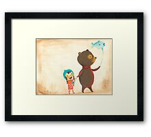 Alfred and Boo Framed Print