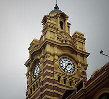 Flinders Street Station by Andrejs Jaudzems