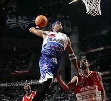 Vince Carter 2006 All Star Game by BIGDREAMS001