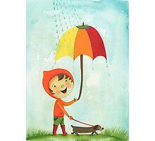 rain drops keep falling on my head Photographic Print