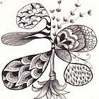 Zentangle 7 by Alycia Rowe