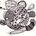 Zentangle 9 by Alycia Rowe