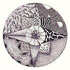 Zentangle 10 by Alycia Rowe