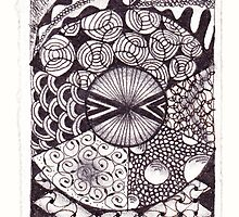 Zentangle 11 by Alycia Rowe