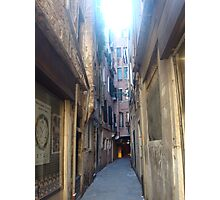 italy paths&buildings Photographic Print