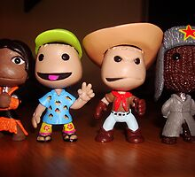 little big planet figures/characters. by zuziaboo