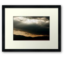 Sedative Rays  Framed Print