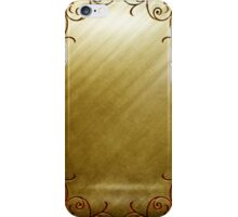 Gold Lux iPhone Case/Skin