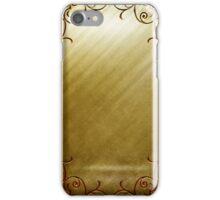 Gold Lux iPhone Case/Skin