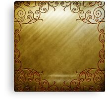 Gold Lux Canvas Print