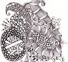 ZenTangle 10 by Kerryn Rowe
