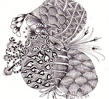 ZenTangle 11 by Kerryn Rowe