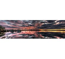 Pelican Marina (NSW Australia) Photographic Print