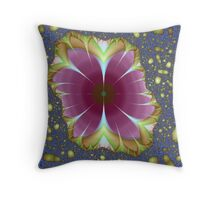 Lost Flowers Throw Pillow