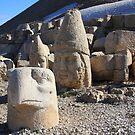 Mt Nemrut by Christine Oakley