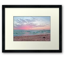 11-11-11 Sunrise Framed Print