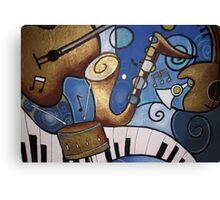 Musical Mural Canvas Print