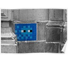 Space Invader 5 Poster