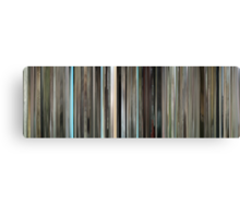 Moviebarcode: The Graduate (1967) Canvas Print
