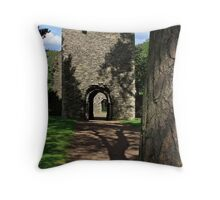 Cross Kirk Throw Pillow