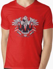 KING VICIOUS Mens V-Neck T-Shirt