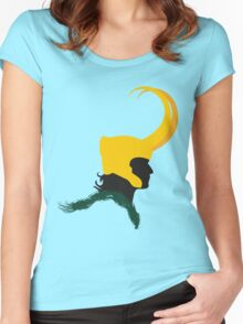 The Loki Profile Women's Fitted Scoop T-Shirt