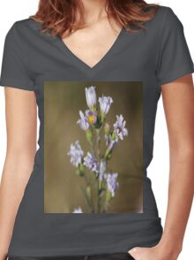 Wild Thistle  Women's Fitted V-Neck T-Shirt