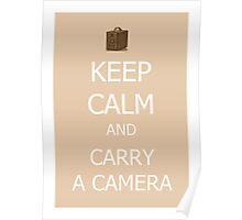 Carry a Camera Poster
