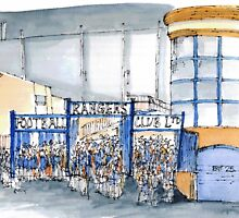 Rangers Football Club, Ibrox, Glasgow by Garry Conway